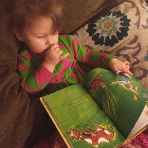 Annie's favorite book is Mrs. Wow Never Wanted a Cow.